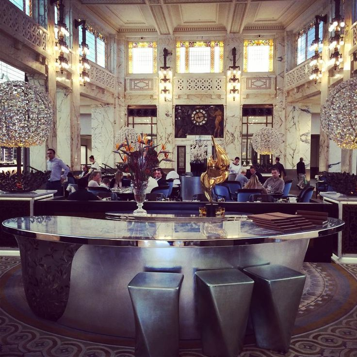 Lokal The Bank, des Hotel Park Hyatt Vienna ***** #viennaliciousempfiehlt
