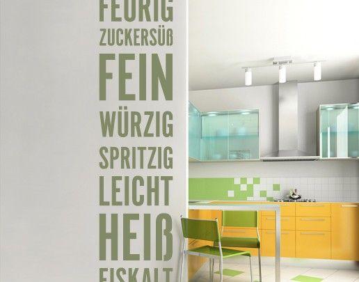The 25+ best ideas about Wand Küche on Pinterest Wand in der - wandtattoos spr che k che