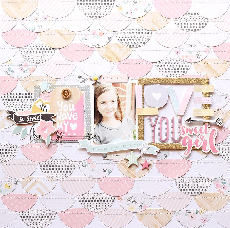 Ashleyhorton010675's Gallery: **Crate Paper** Love You Sweet Girl