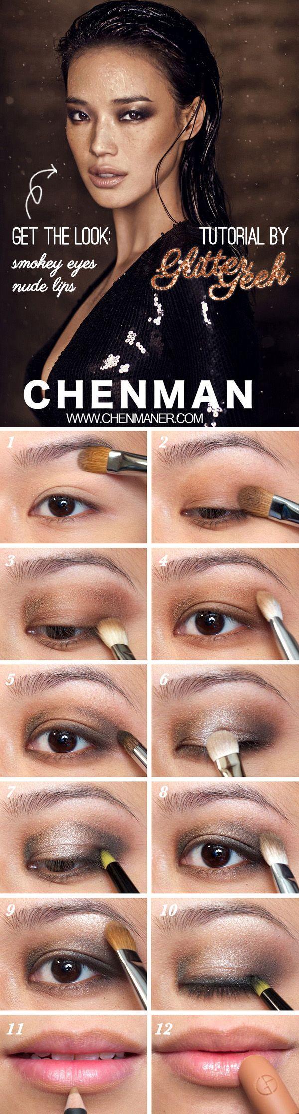 Shu Qi on Harper's Bazaar 2011 (Smokey Eyes and Nude Lips Makeup Tutorial)   Glitter Geek