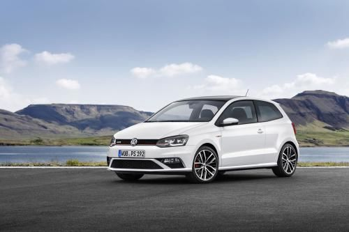 2015 Volkswagen Polo GTI Front Angle Pictures