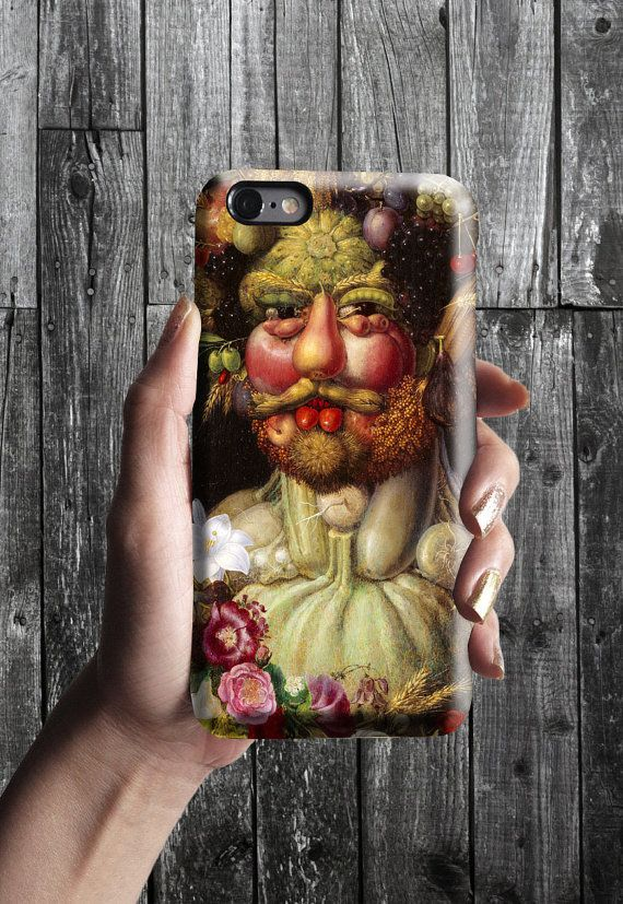 Vertumnus - Giuseppe Arcimboldo iPhone Case 6, 6S, 6 Plus, 4S, 5S. Mobile Phone Cell. Art Painting. Gift Idea. Anniversary. Gift for him/her