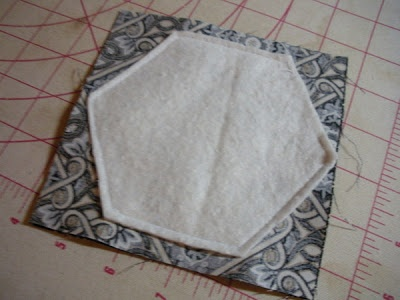 """sew & flip hexagon tutorial! 