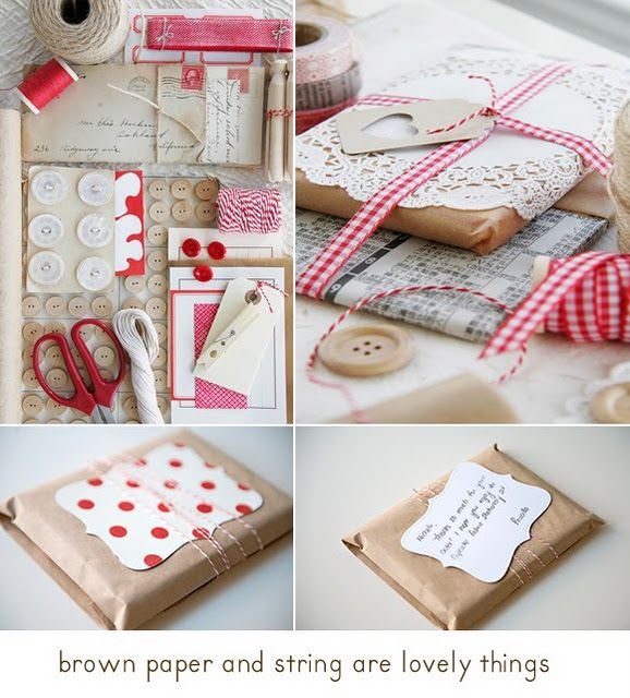 101 best creative ideas with kraft images on pinterest gift wrapping ideas negle Images