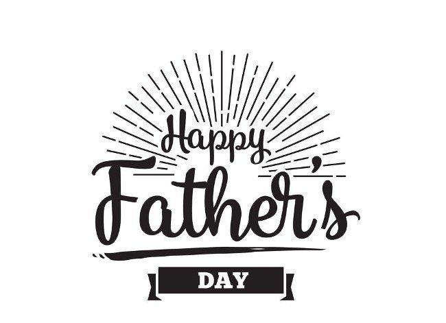 Happy Father's Day Images Black And White 2018 Cartoon Card Stock#fathersday20...