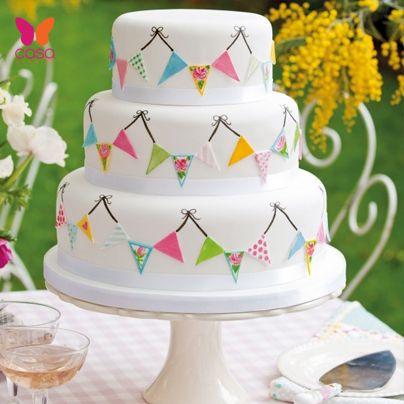 cake con badoleras...que gracioso