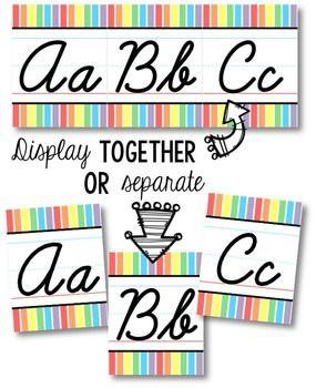 Cursive line  alphabet wallets female