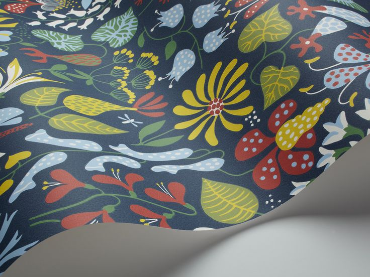 More Scandinavian wallpaper - for the study?