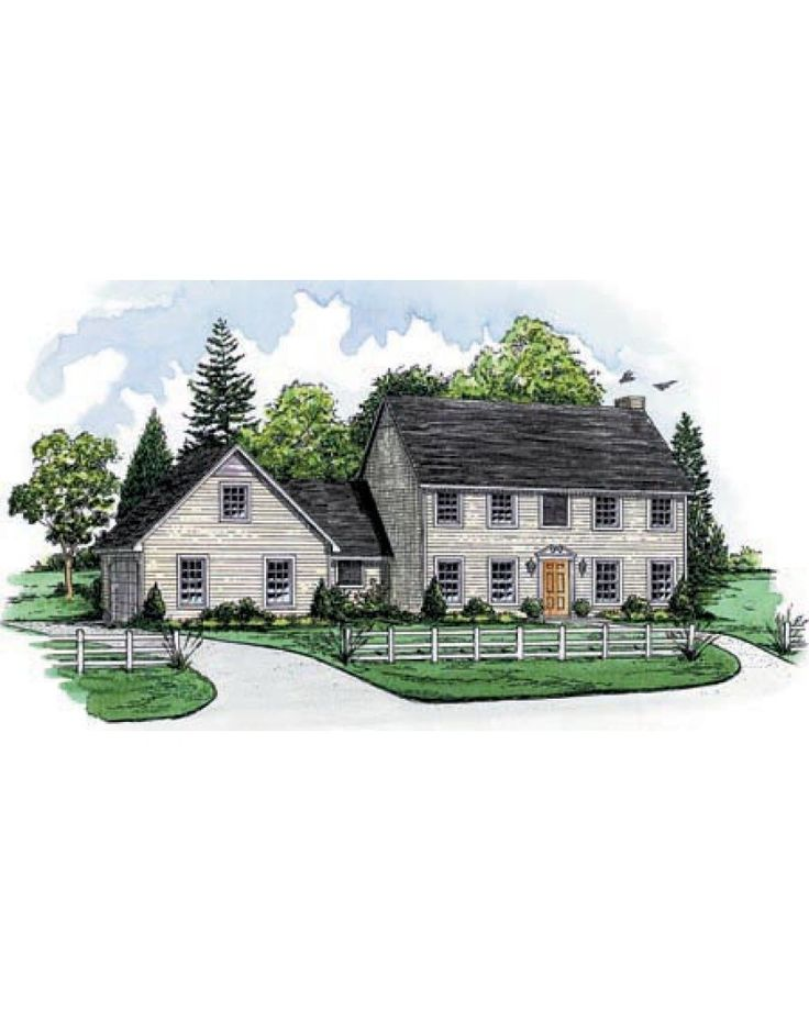 39 best let 39 s build a house images on pinterest for Saltbox colonial house plans