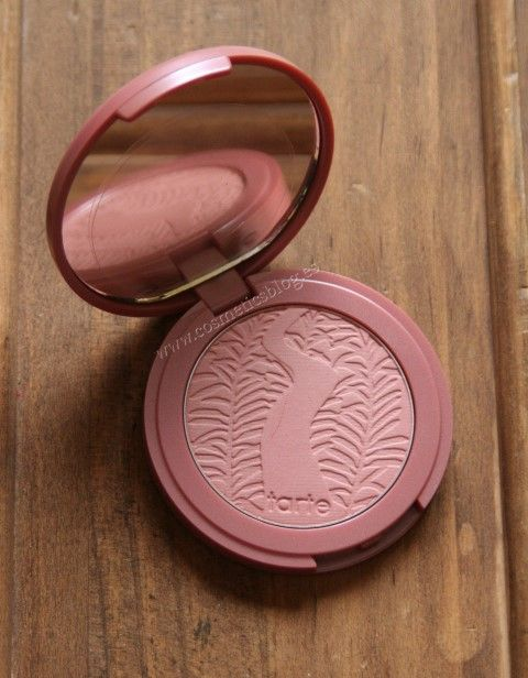 Tarte Exposed Amazonian Blush #sephora I have used this two times lightly. The imprint is still visible. Sanitized.