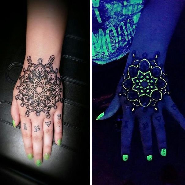 Best Glow In The Dark Tattoos Images On Pinterest Dark Tattoo - 30 creative black light tattoos you can see only under uv light 8 is what i call amazing