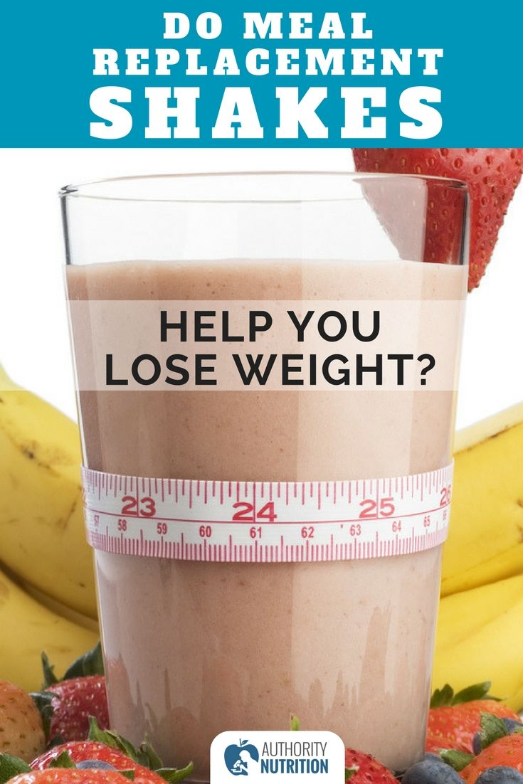 The science of weight-loss shakes: How meal replacements work