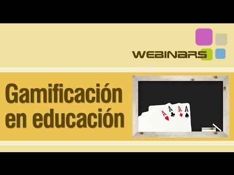 Webinar: Gamificación en educación - YouTube