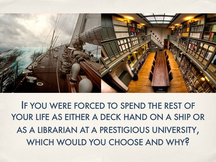 ship or library