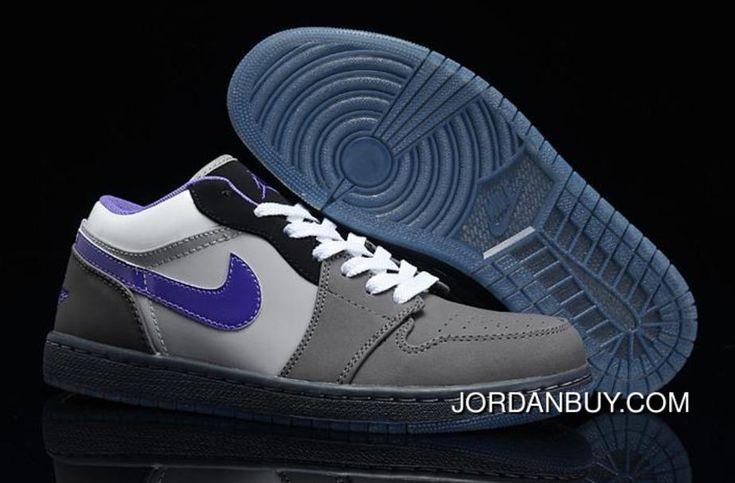 http://www.jordanbuy.com/original-nike-air-jordan-i-1-retro-mens-shoes-low-grey-purple-shoes.html ORIGINAL NIKE AIR JORDAN I 1 RETRO MENS SHOES LOW GREY PURPLE SHOES Only $85.00 , Free Shipping!