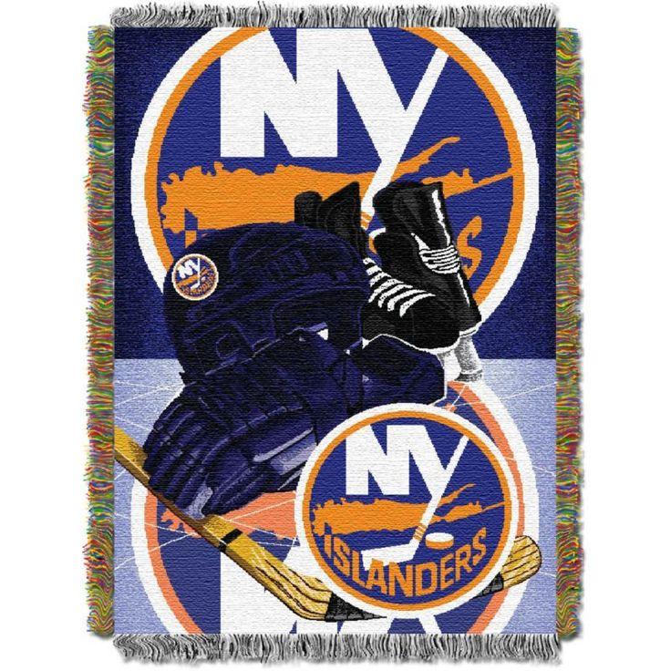 Northwest New York Islanders Vintage 48 in x 60 in Tapestry Throw Blanket