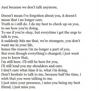 ex best friend quotes | even if you never answer when I needed you the most, I'm still going to be here