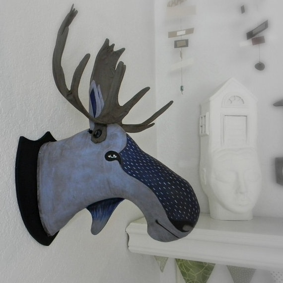 1000 images about faux taxidermy on pinterest - Fake stuffed moose head ...