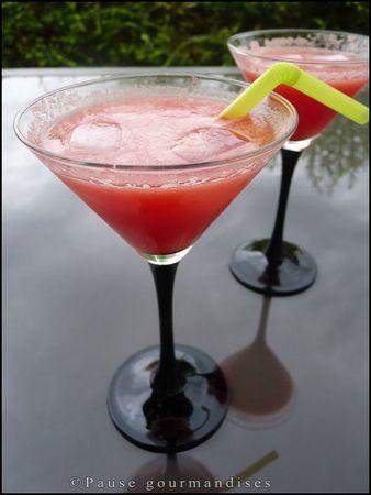 """Cocktail """"Soleil couchant"""""""