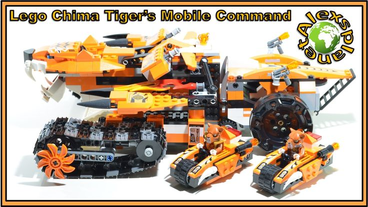 Lego Chima 2015 70224 Tiger's Mobile Command Speed Build Review