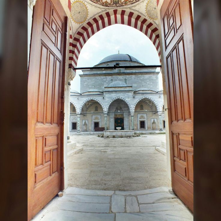 Sultan II. Bayezid Mosque, Edirne (May, 2014).