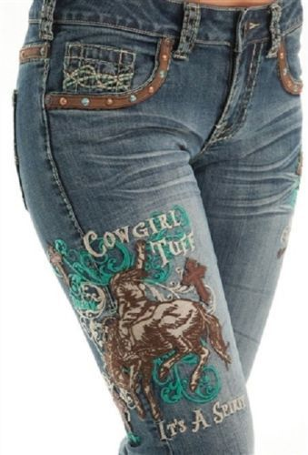 Cowgirl Tuff Unbelieveable Spirit Western Jeans Amazing Comfortable Fit