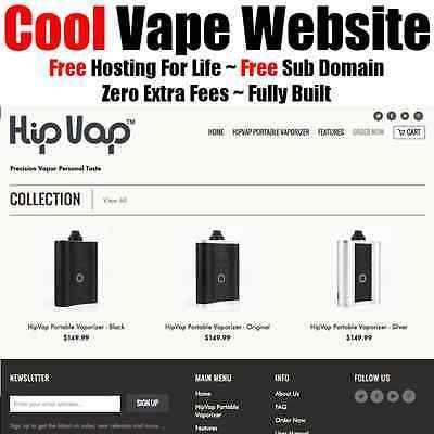 Vape Website ~ Make Money ~ Online Business ~ Internet ~ Adult ~ Home