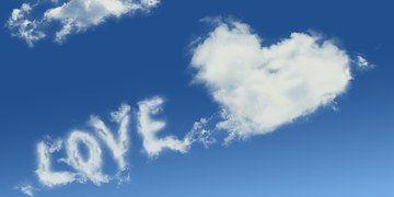Love, Clouds, Romance, Sky, Romantic