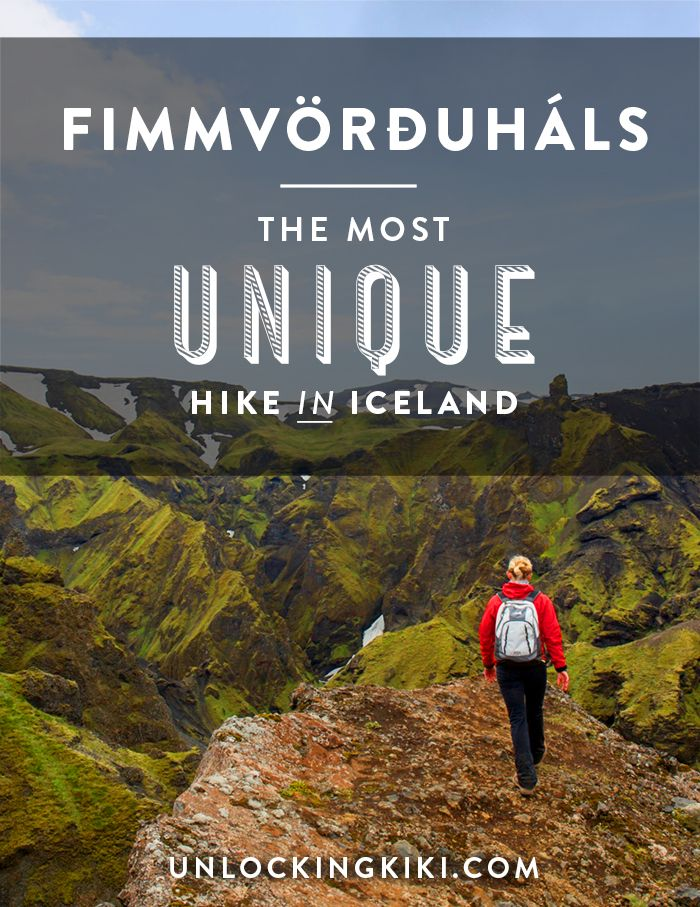 The Most Unique Hike in Iceland // Hiking the Fimmvörðuháls Trail…