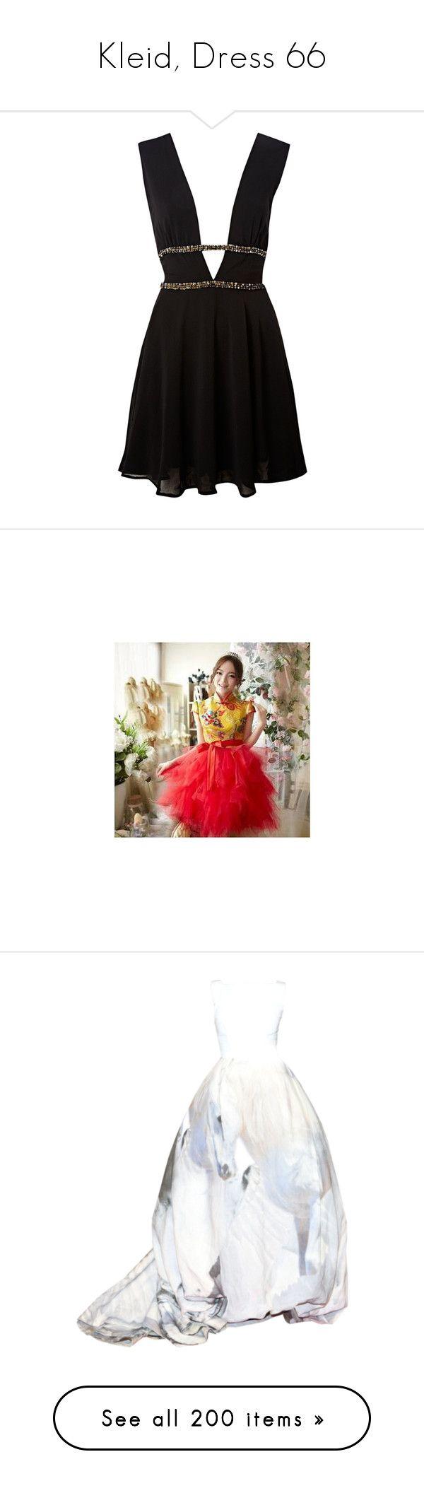 """Kleid, Dress 66"" by kristinaeduardovna ❤ liked on Polyvore featuring dresses, vestidos, short dresses, black dress, black, women, v neck short dress, john zack dresses, v neck dress and zipper mini dress"