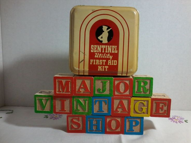 Sentinel Utility First Aid Kit Tin by MajorVintageShop on Etsy