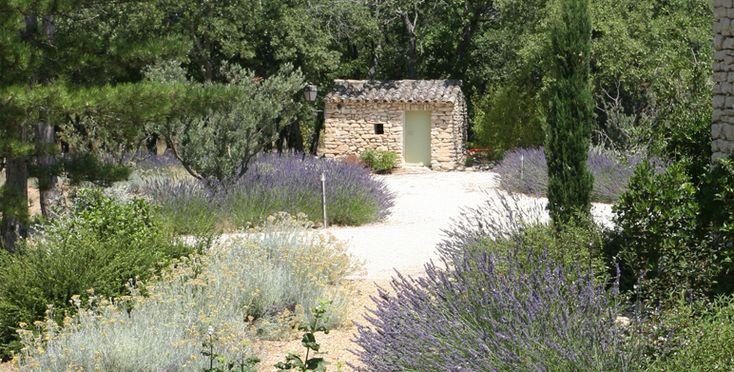 jardin provençal privé, Gordes Philippe Théoulle Paysagiste