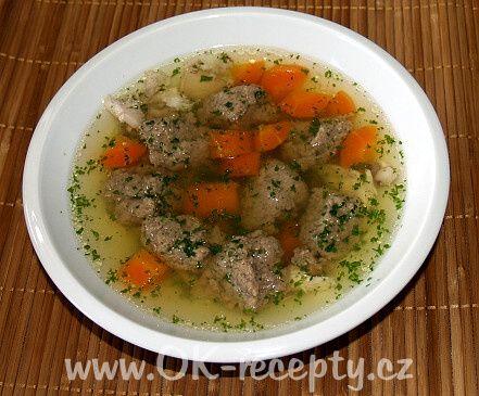 polévka s játrovými knedlíčky - Hledat Googlem