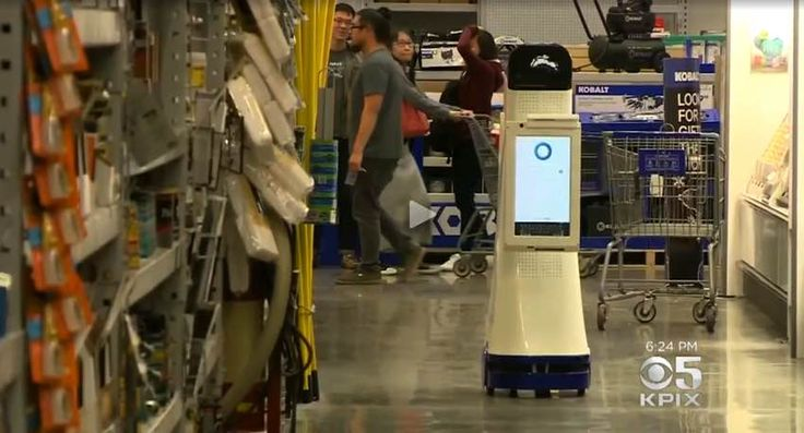 Lowes Robot Store Assistant - Is LoweBot the Future, or a Bad Idea?  https://www.protoolreviews.com/news/lowes-robot-lowebot-store-assistant/27164/