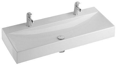 dubbele wastafel kleine badkamer - Sphinx - 48,8cm diep