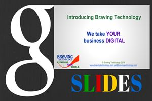 Google Slides for a great presentation