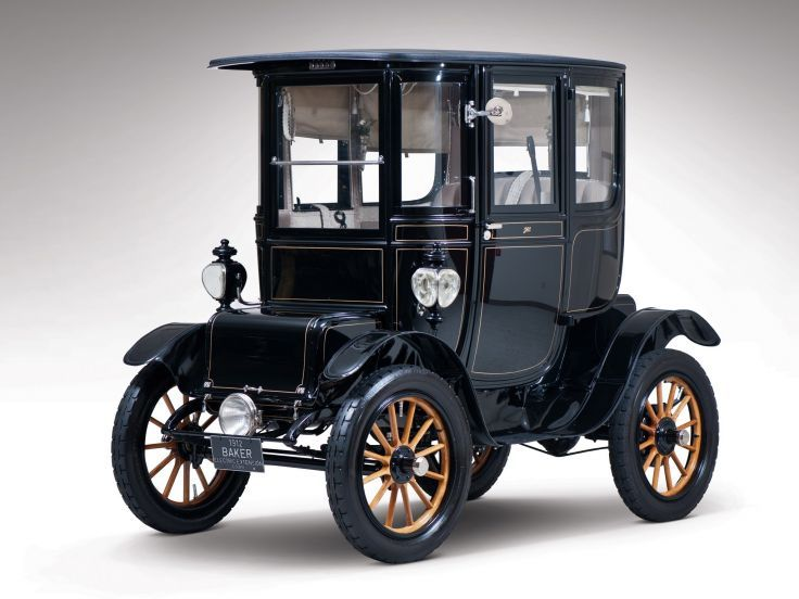 1912 Baker Electric Model-V Special Extension Coupe