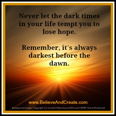 The meaning and origin of the expression: The darkest hour