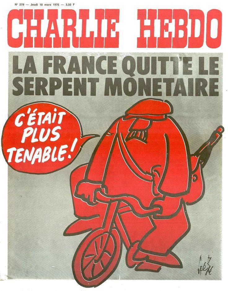 Charlie Hebdo - # 279 - 18 Mars 1976 - Couverture : Gébé
