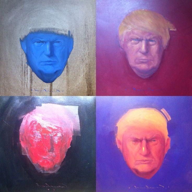 #IranianPainters Untitled By Behrouz Paknahad 2017 Genre: Portrait Medium: Oil on Canvas Dimensions: 50*50 cm Location: 'I am' Painting Exhibition, Saless Gallery, Tehran, Iran CopyRight: Fair Use بدون عنوان از بهروز پاكنهاد ١٣٩٦ ژانر: پرتره تكنيك: رنگ روغن بر بوم اندازه اثرها: ٥٠*٥٠ سانتيمتر (هر اثر) محل نگهداري اثر: نمايشگاه نقاشي 'من هستم'، نگارخانه ثالث، تهران، ايران حق تكثير: استفاده منصفانه