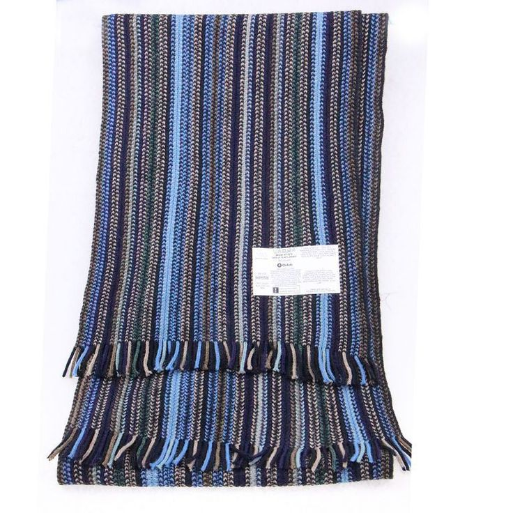 2015 Fall Brand New Arrival Business Black Blue Long Knit Thick Warm Wholesale Bufandas Cotton Striped Mens Scarf Fashion Winter