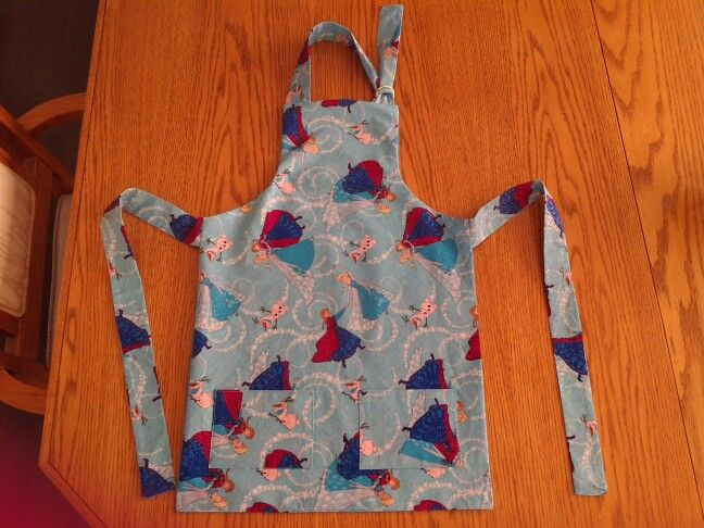 Apron for Miss Sofia so she can help mommy bake