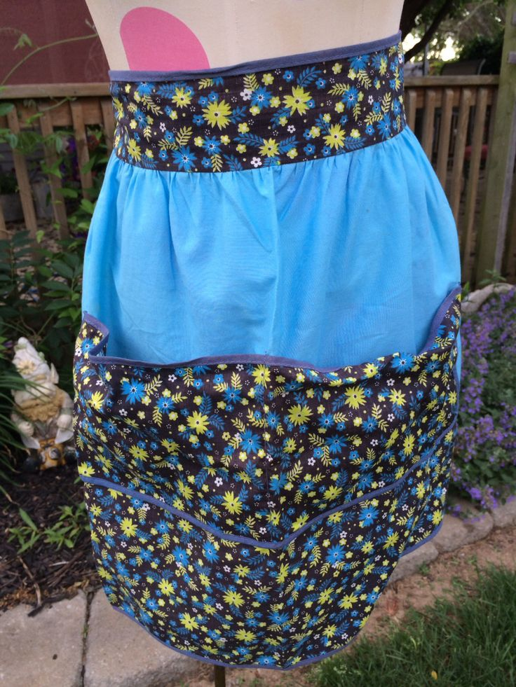 Blue and Green Aprons
