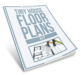 Tiny House Floor Plan Kit A cut and paste kit to design your own tiny house.