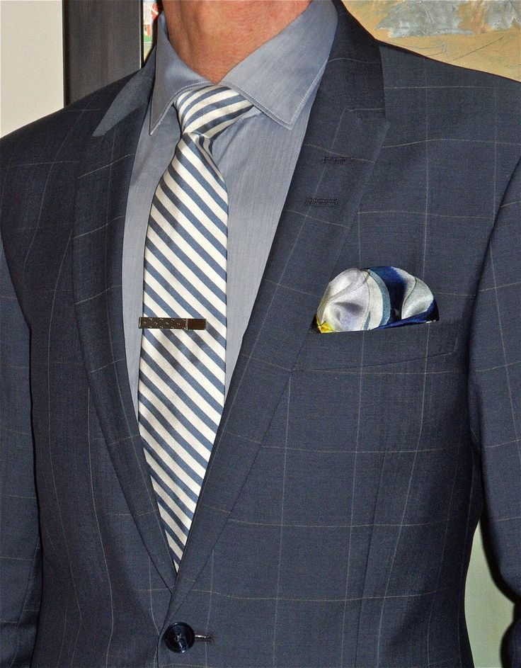 Happy Monday! Tiger of Sweden window-pane suit, Mastai Ferretti shirt, Penguin tie, Ron White shoes…