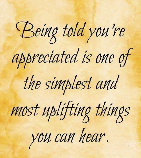 Quotes On Thank You Notes: 25+ Best Ideas About Appreciation Quotes On Pinterest
