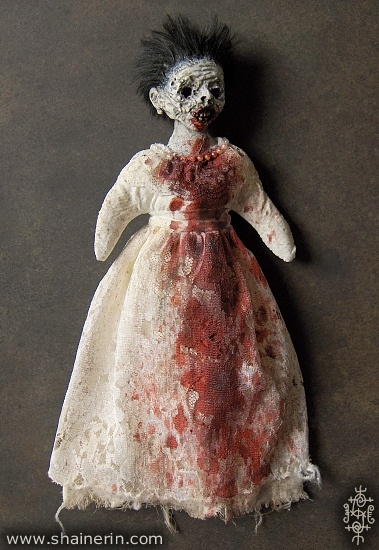Zombie Art Doll: Zombiedoll006Frontjpg 379550, Shain Erin, Zombie Art, Erin Morbid, Zombies Art, Art Dolls, Zombiedoll006Front Jpg 379 550