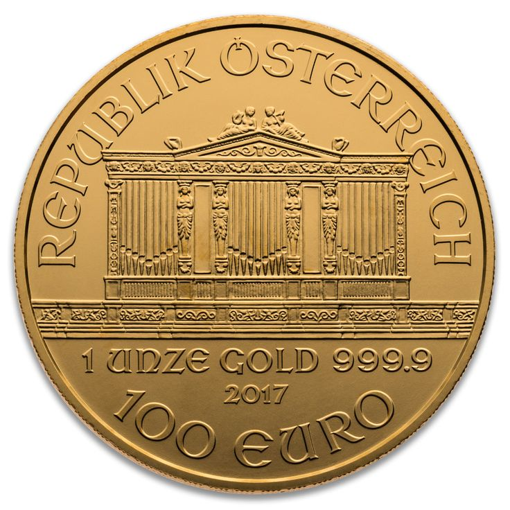 2017 AUSTRIAN GOLD PHILHARMONIC 1 oz .9999