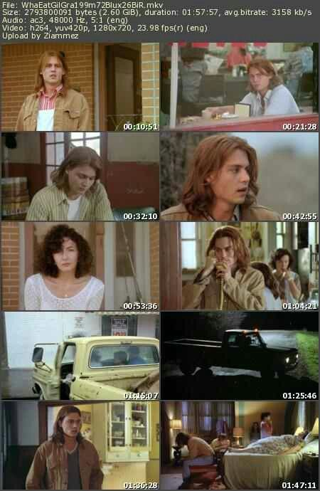 the evolution of the characters in the movie whats eating gilbert grape Gilbert grape (depp) lives in endora, a place where nothing much happens   taking care of arnie and their obese mother takes up most of gilbert's time,  leaving what few moments he has to  once you select rent you'll have 14 days  to start watching the movie and 24 hours to finish it  cast and crew  order  history.