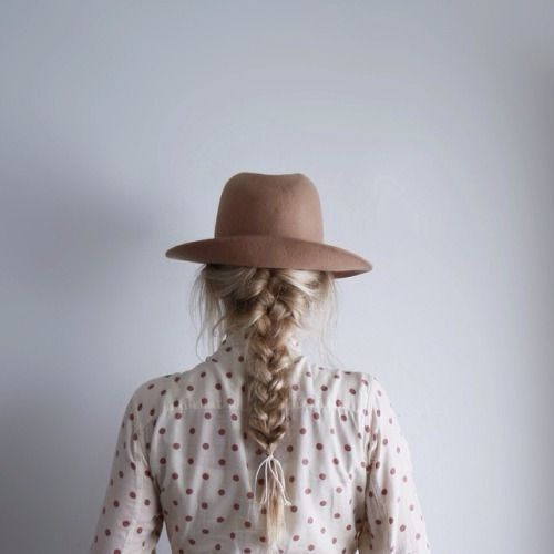 think braids are beautiful and feminie. Sometimes Id like to grow ...